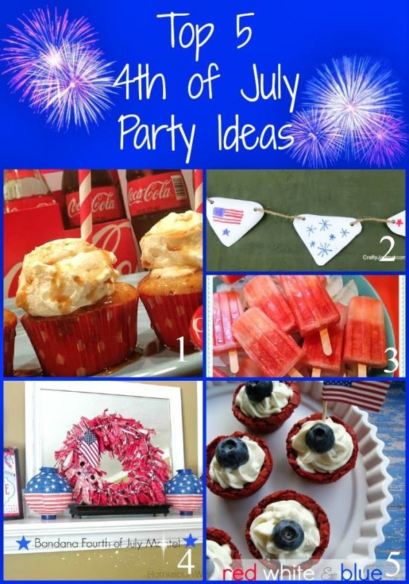Share your party ideas on Pinterest